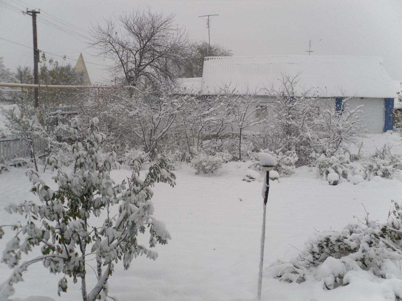 Зима в селе. Блиц: снежная зима