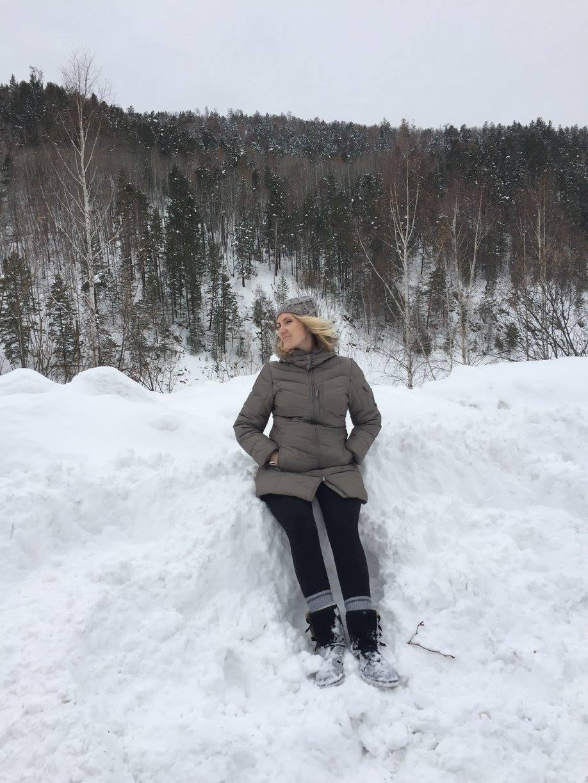 Сибирячка. Зимние забавы