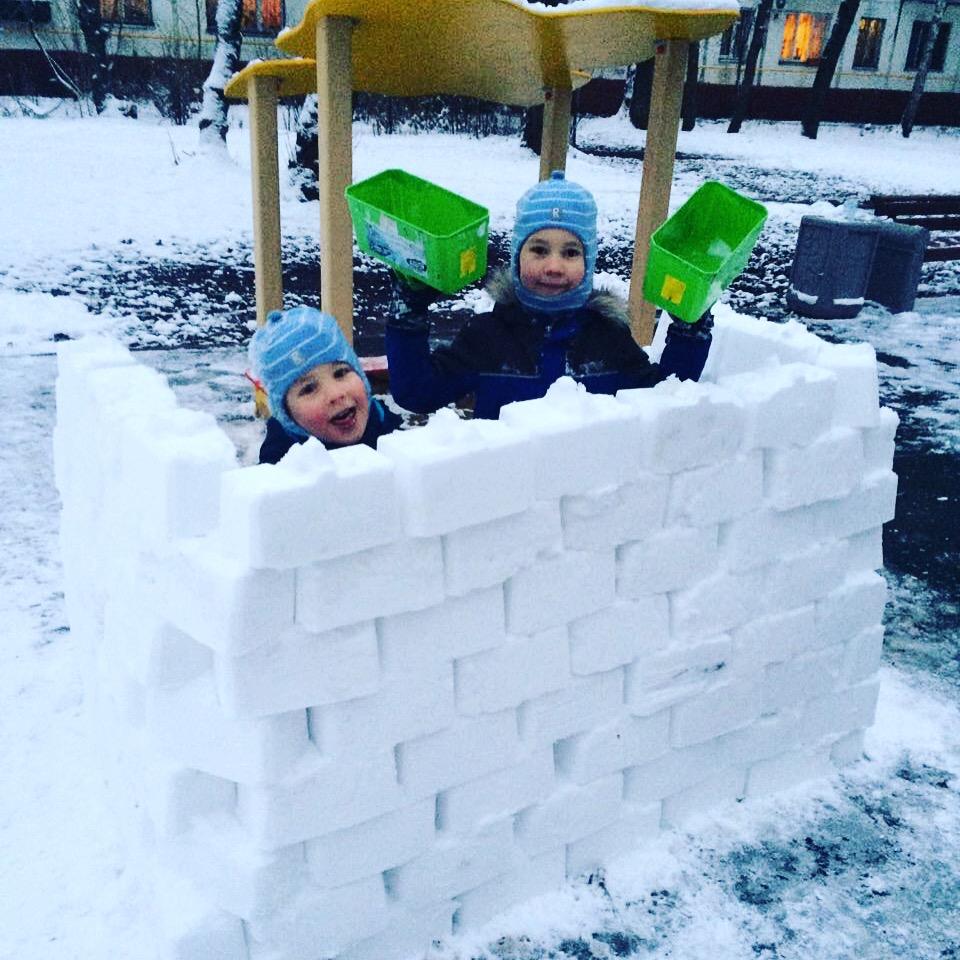 2017 год. Зимние забавы
