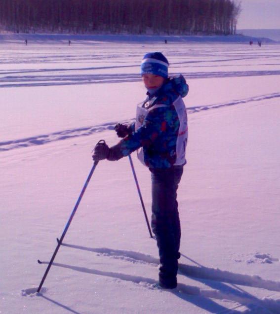 Лыжня зовёт!. Зимние забавы
