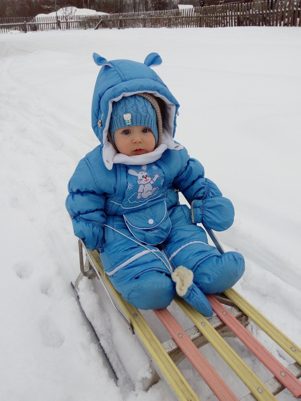 Снежный гонщик.. Зимние забавы