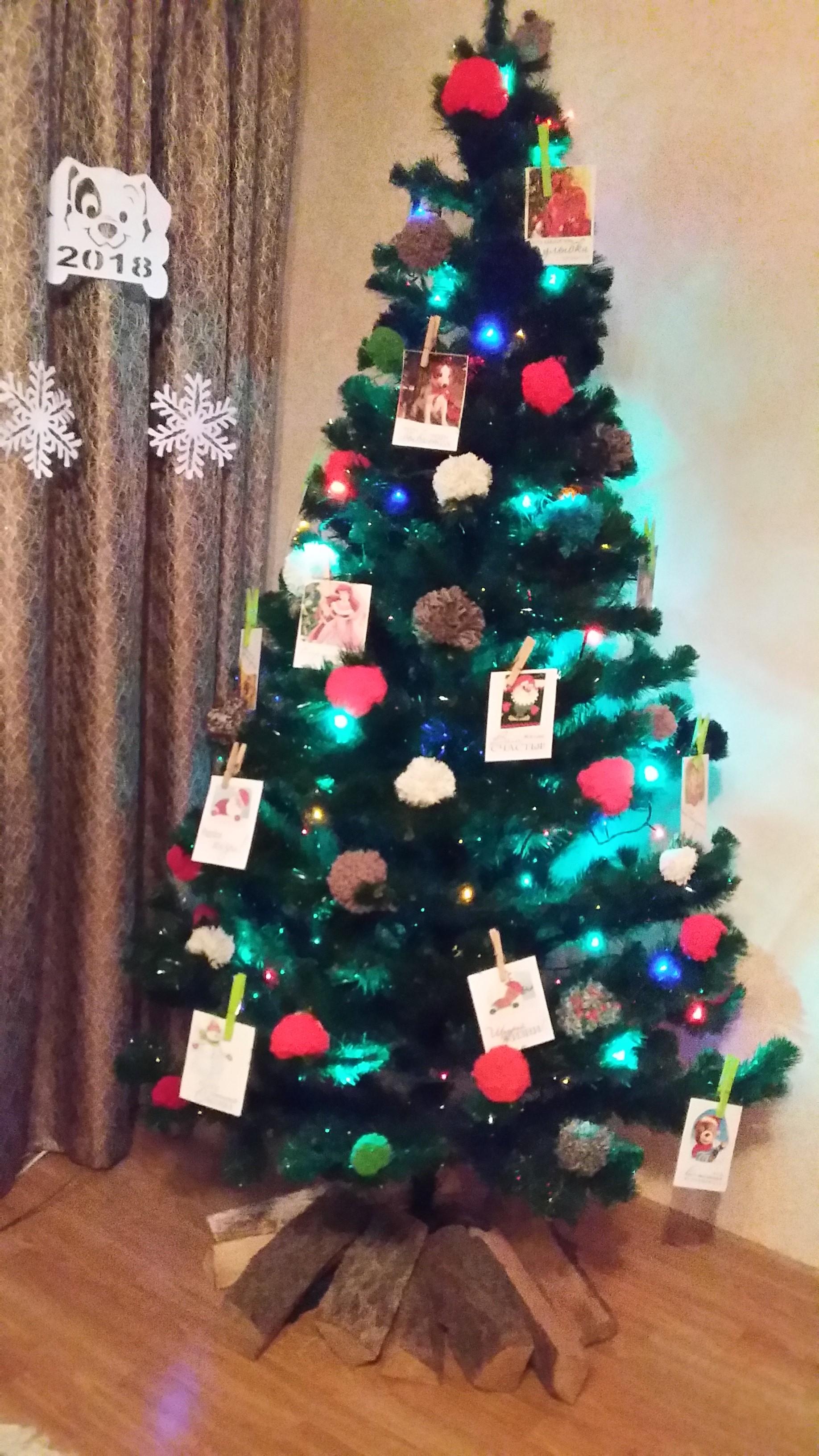 Наша красавица!. Блиц: новогодняя елка
