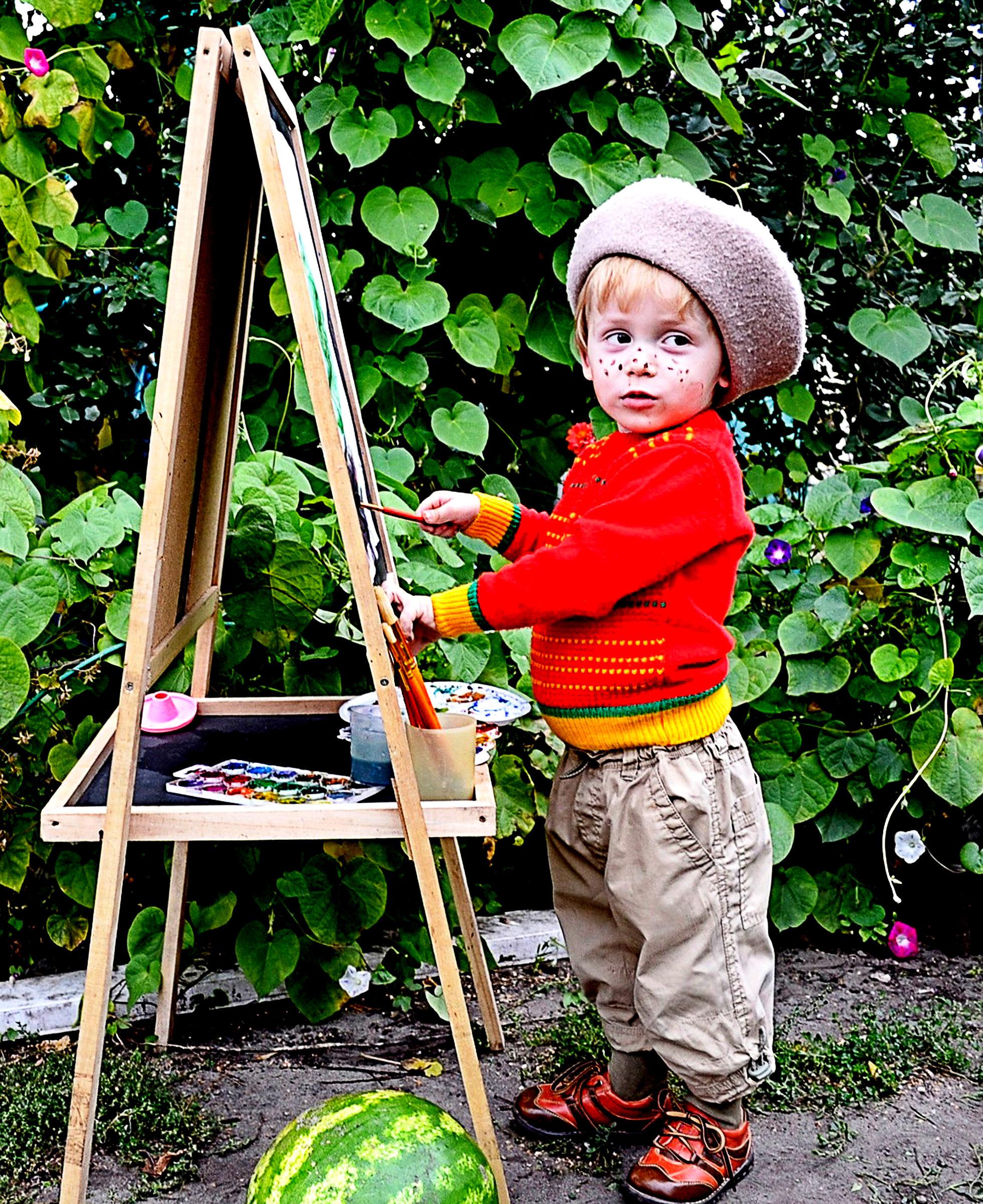 Гуляю и рисую!!!. Лапочка