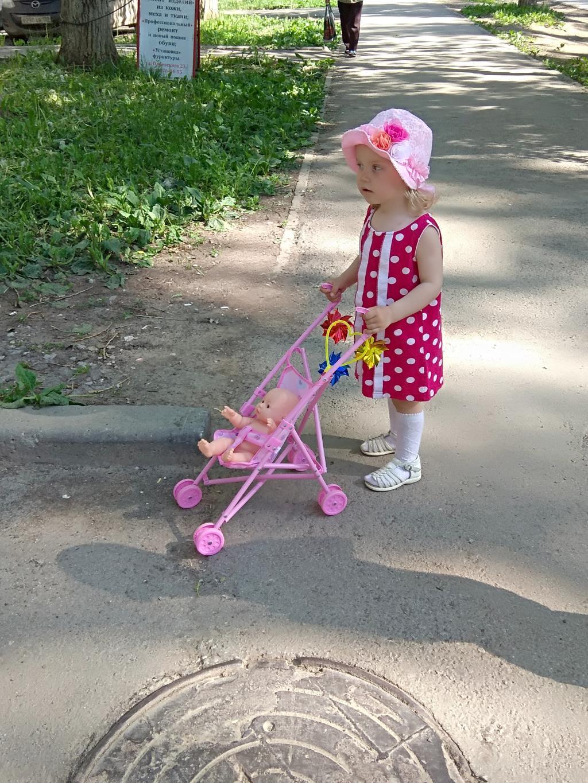 Малышка Капитолина на прогулке в солнечный денёк!. Лапочка