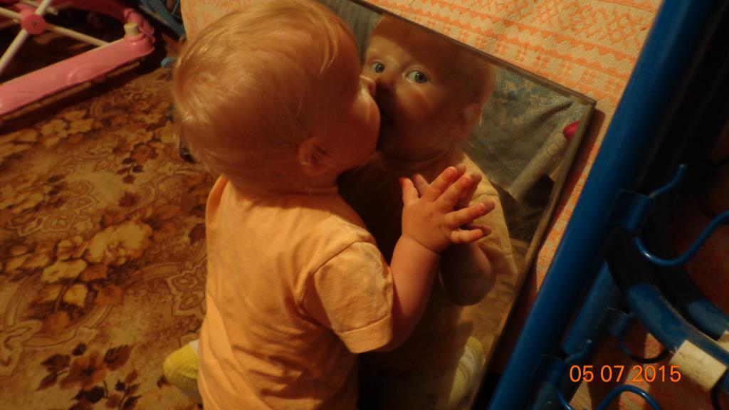 Играем с зеркалом. Я в игре!
