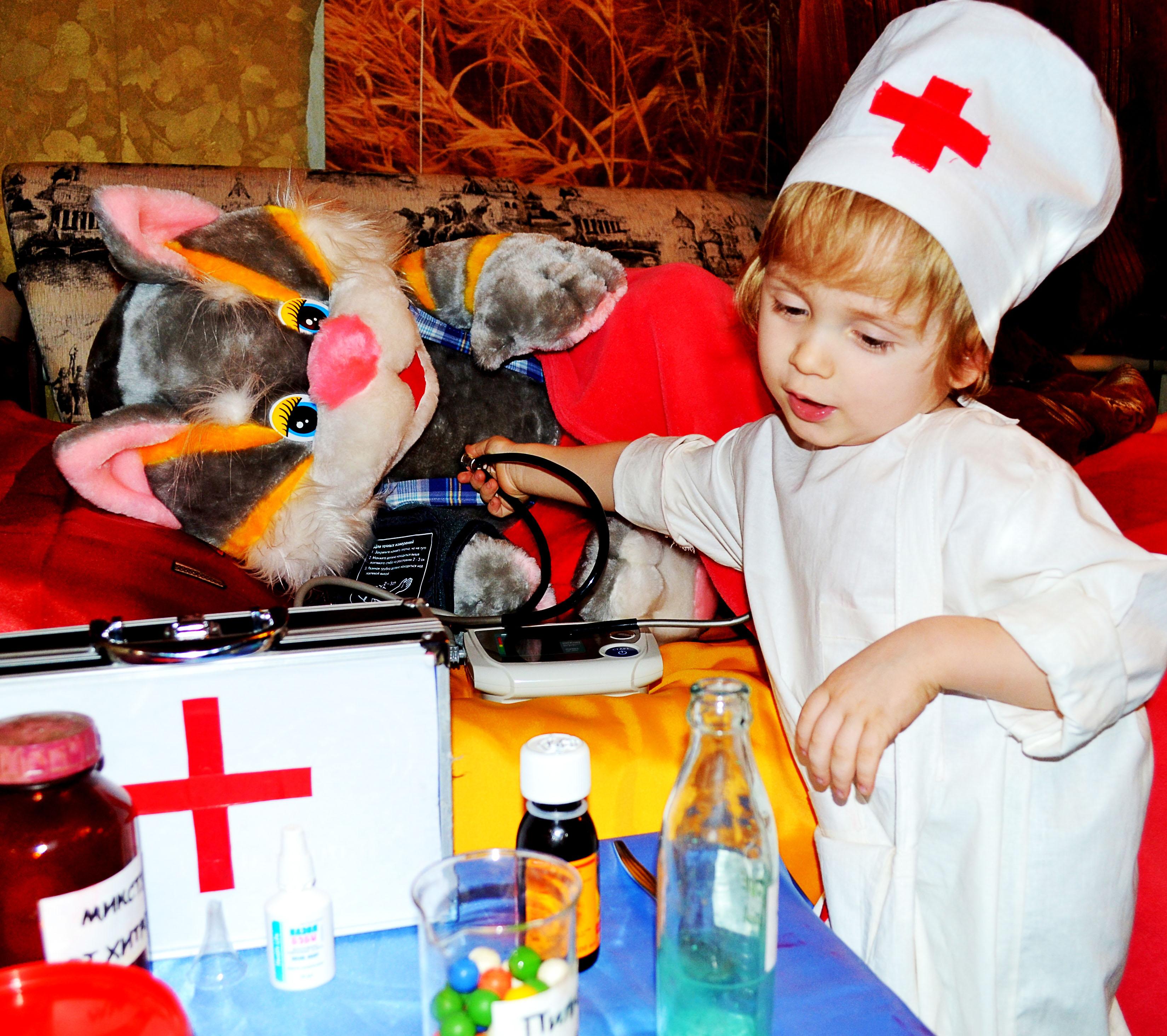 Юный доктор!. Я в игре!