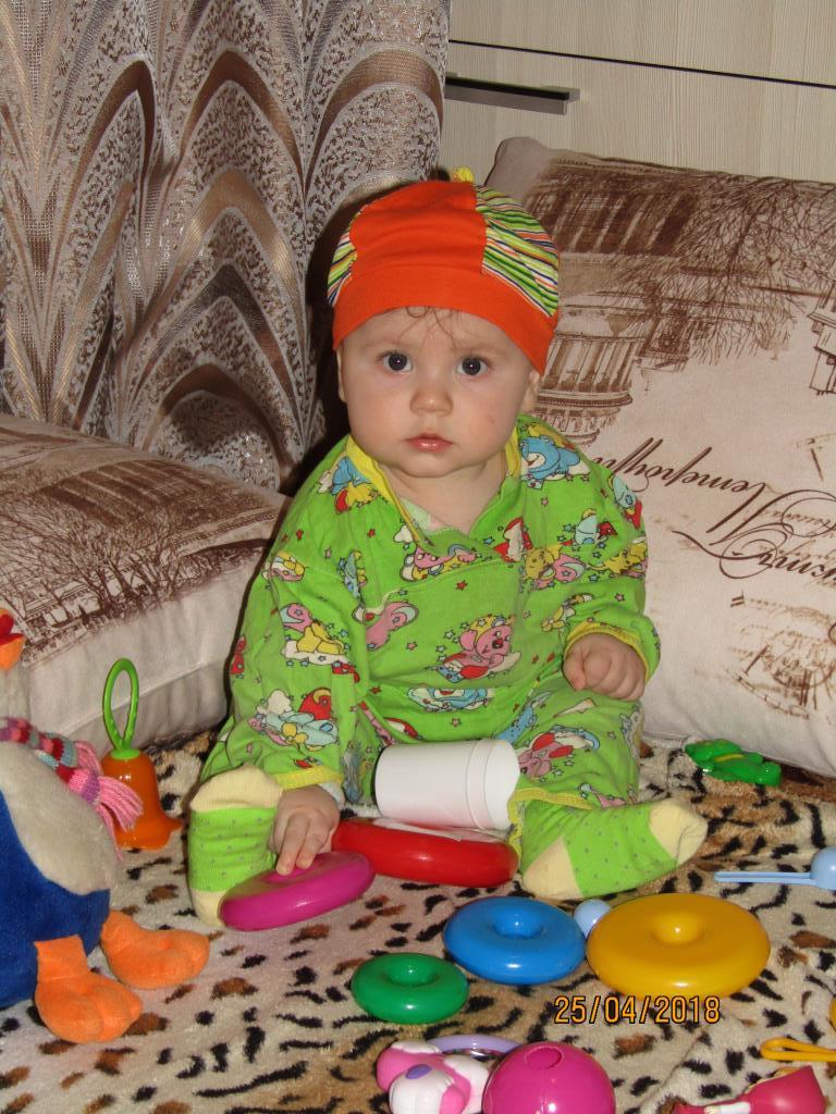 Максимка познаёт мир игрушек. Я в игре!