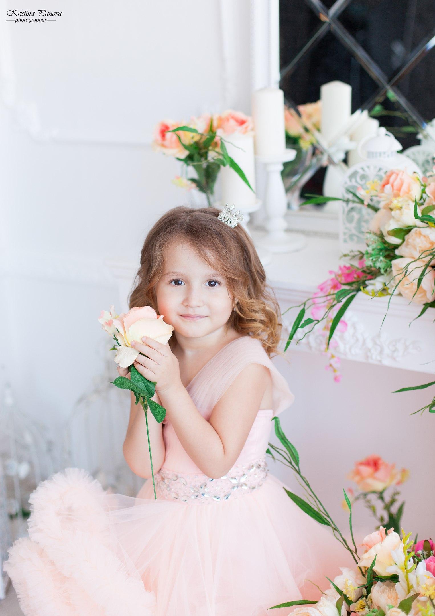 Моя принцесса. Принцесса собирается на бал
