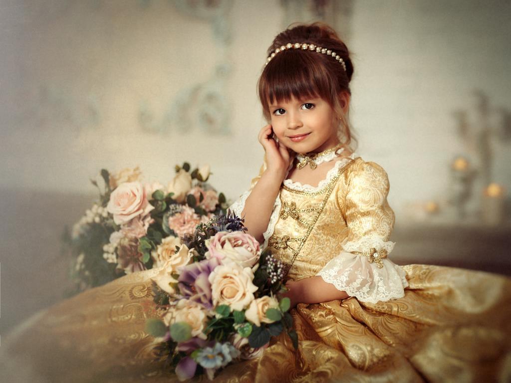 На бал. Принцесса собирается на бал