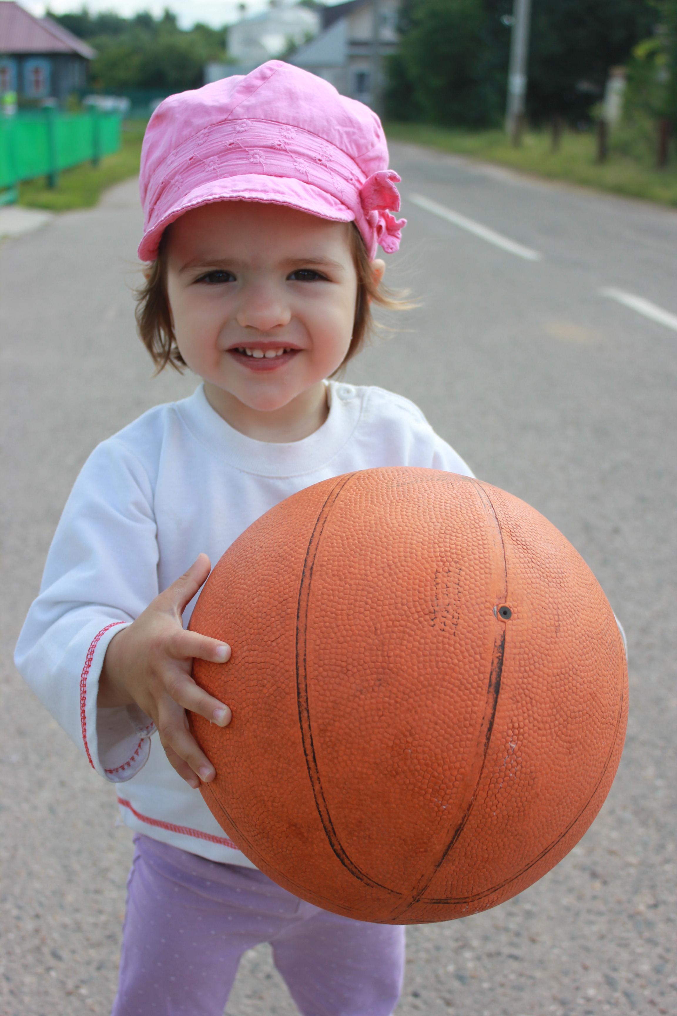 Играем в баскетбол!. Я в игре!