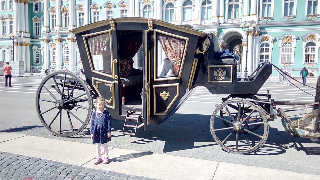 Карета подана! . Принцесса собирается на бал