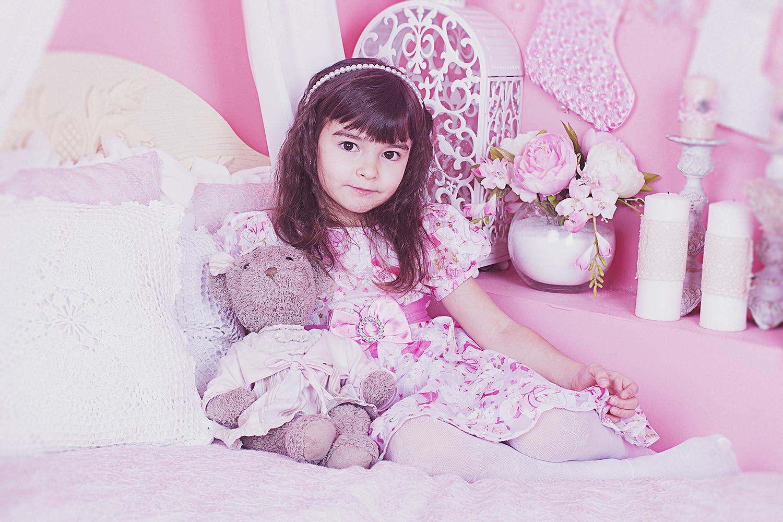 Розовые мечты. Принцесса собирается на бал