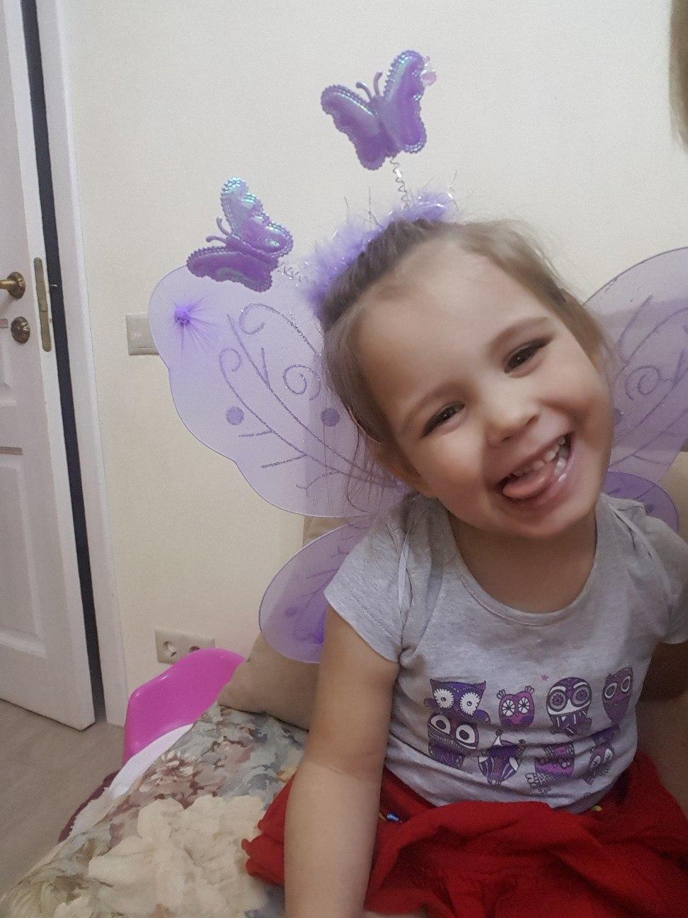 Фея бабочка. Принцесса собирается на бал