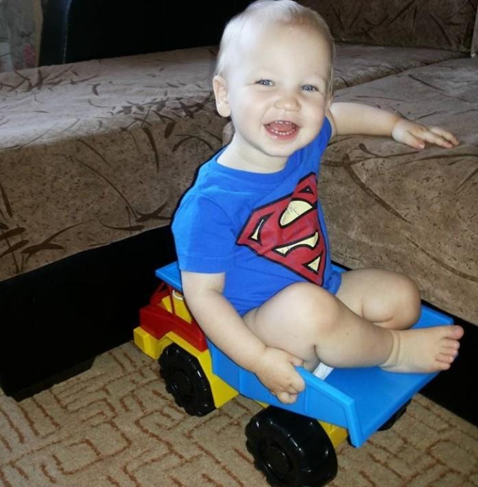 улыбка супермена. Улыбка для мамы