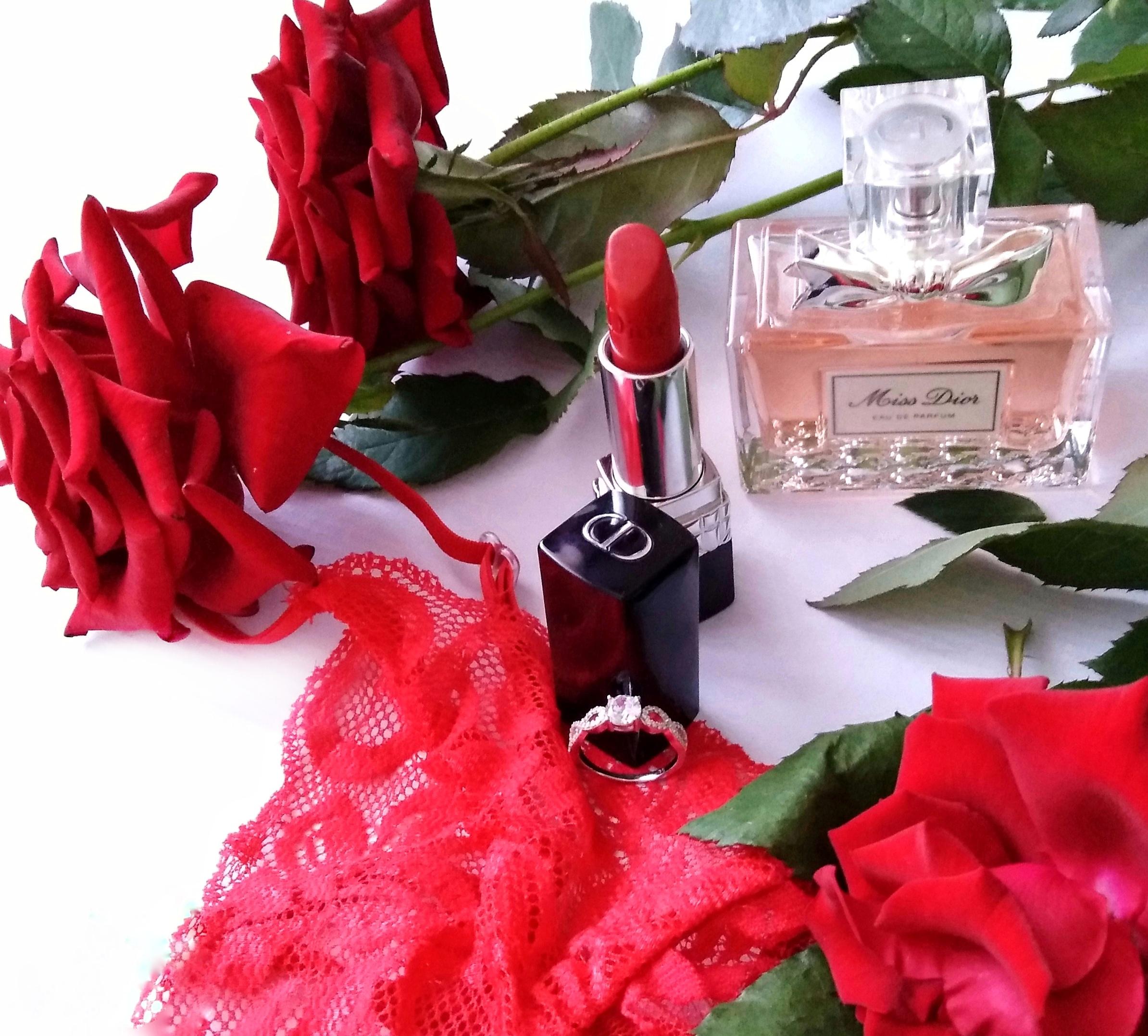 Красные розы . Блиц: розы