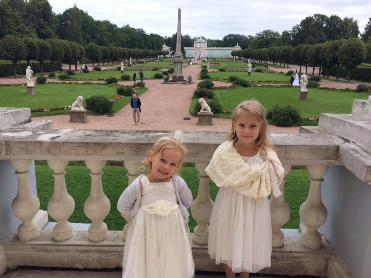 Маленькие принцессы. Принцесса собирается на бал