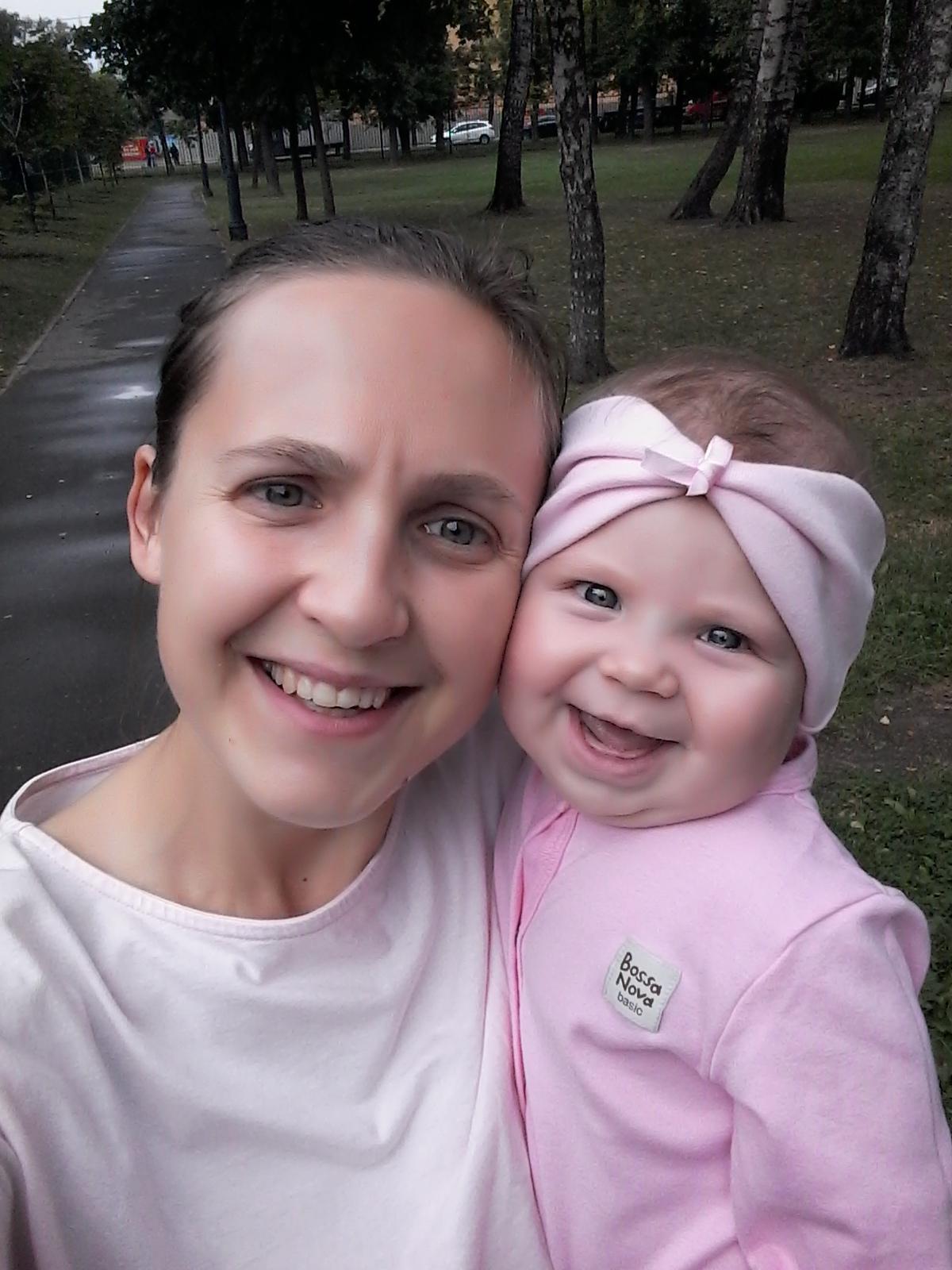 С мамой всегда весело))). Улыбка для мамы