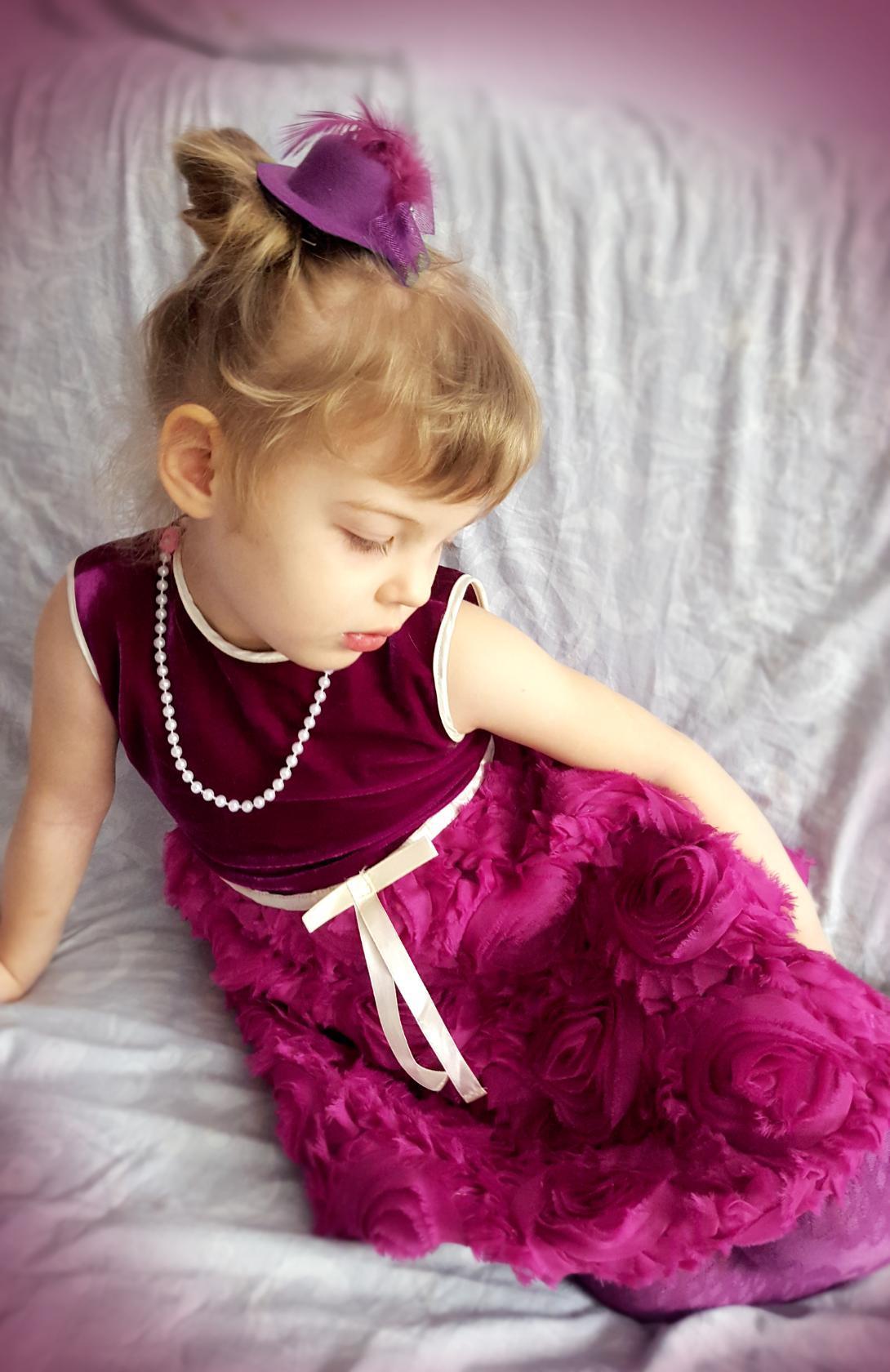 Принцесса . Принцесса собирается на бал