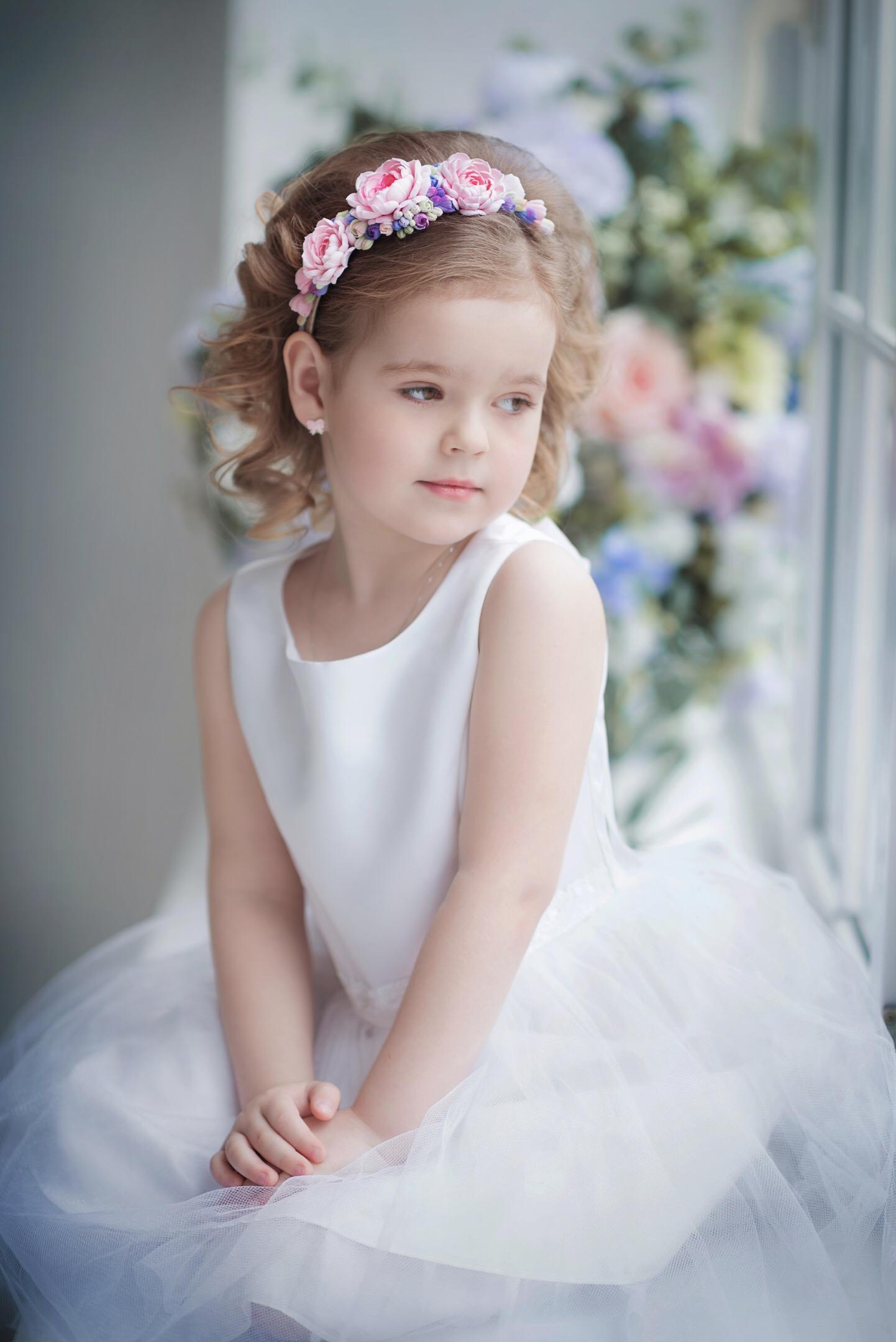 Цветочная принцесса. Принцесса собирается на бал