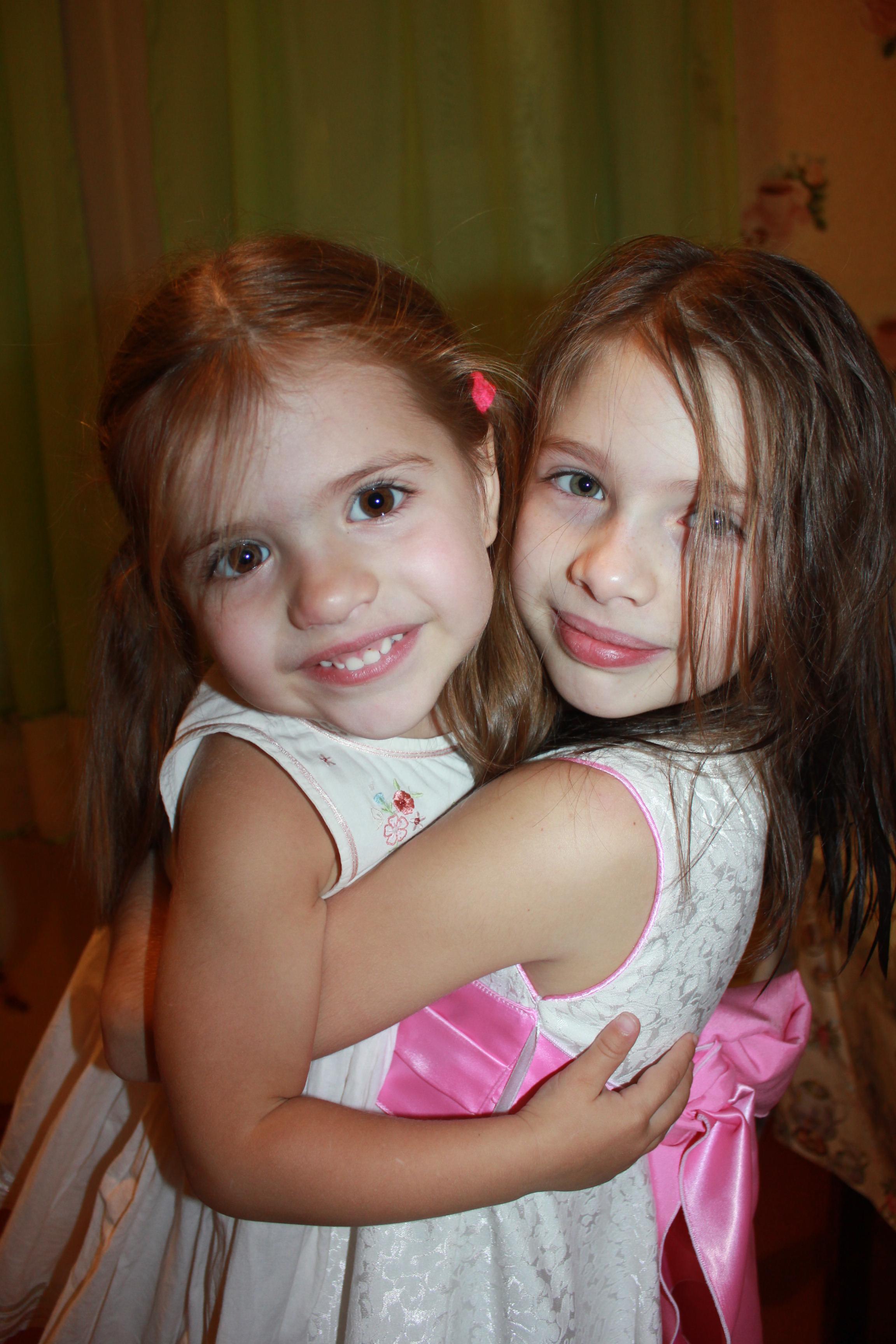 Мои дочки-улыбашечки. Улыбка для мамы