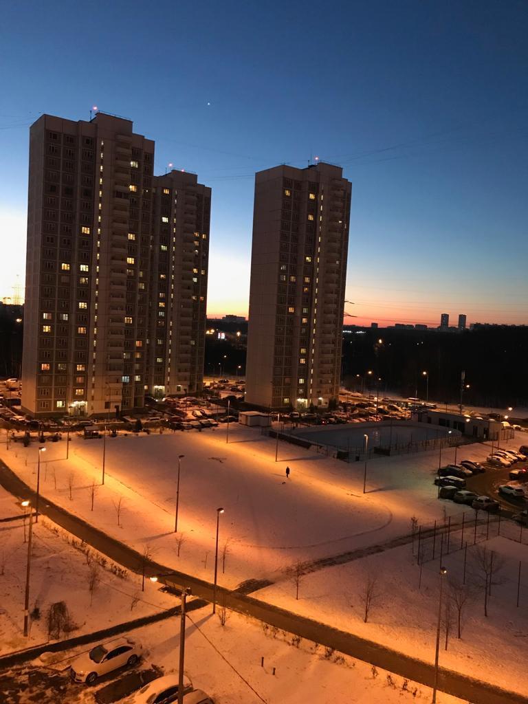 Зимний вид из окна. Блиц: здравствуй, зима!