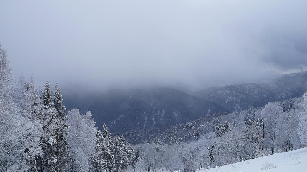 снежный Алтай. Блиц: здравствуй, зима!
