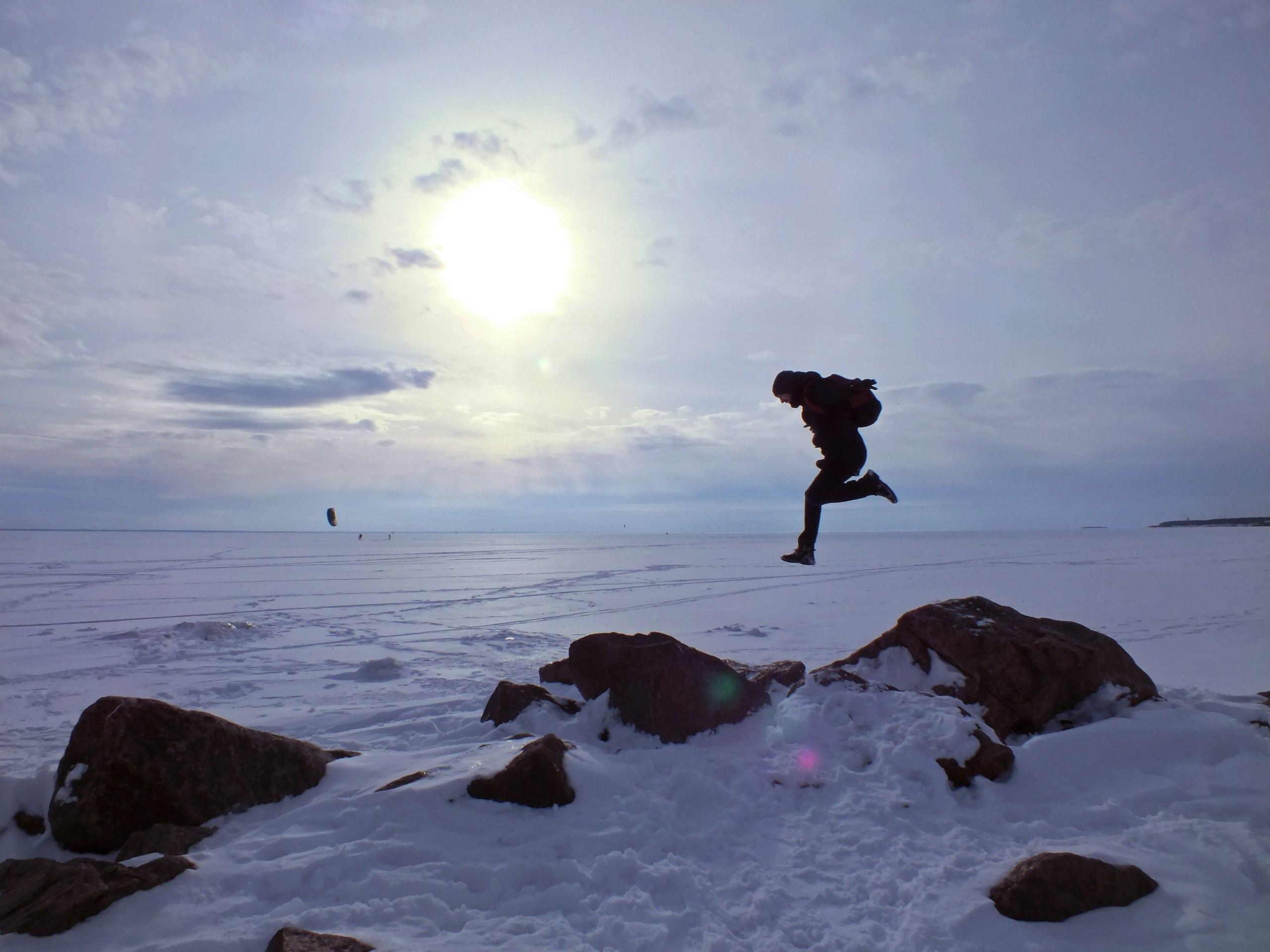 Прыжок в снежную бездну. Блиц: здравствуй, зима!