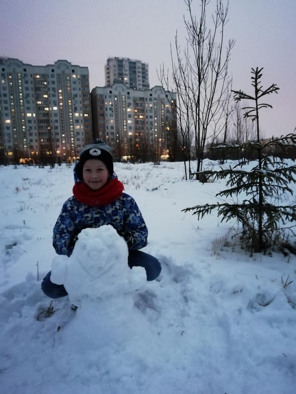 Люблю зиму. Веселая зима
