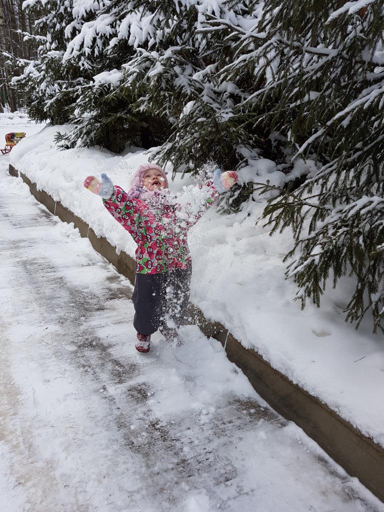 Снег....люблю тебя. Веселая зима