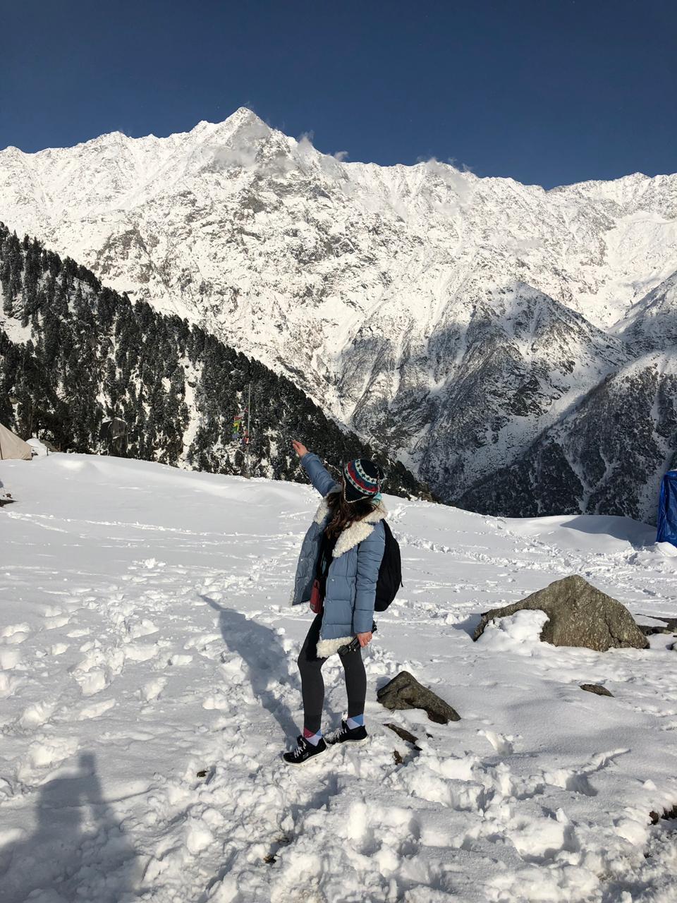 В Гималаях. . Веселая зима