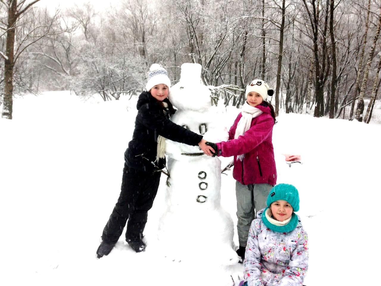 Зимняя дружба. Веселая зима