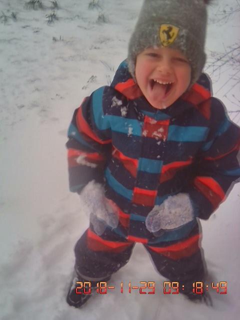 время снега. Веселая зима