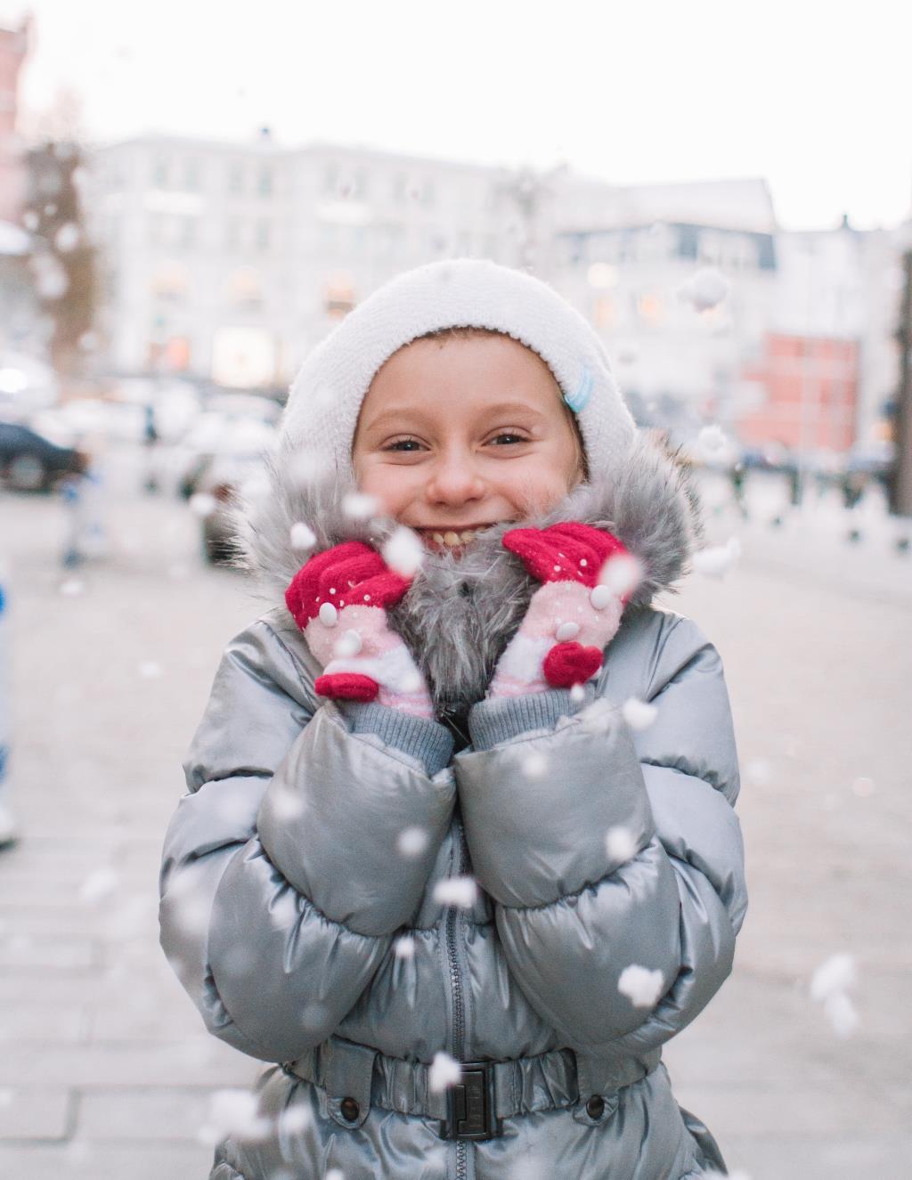 Зимняя сказка. Веселая зима