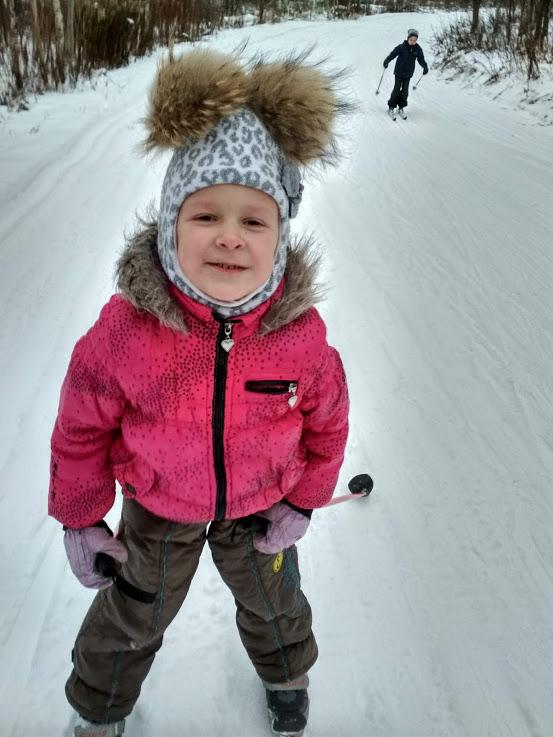 На лыжах с ветерком!. Веселая зима