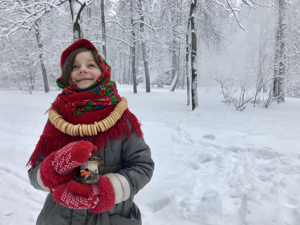 Словно в сказке. Веселая зима