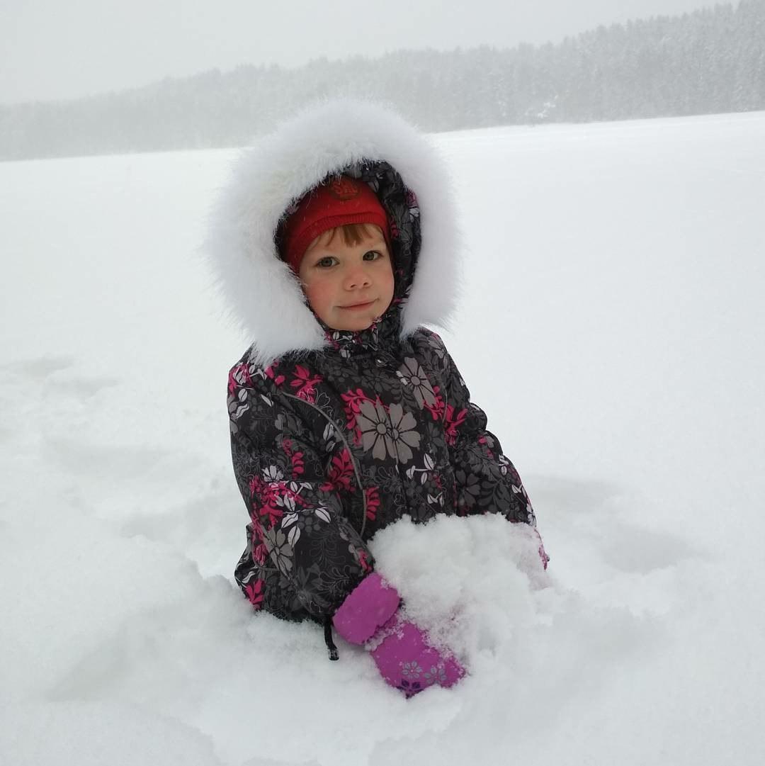 Снежная погода. Веселая зима