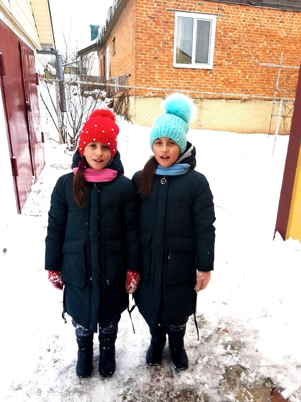 Свежая прогулка. Веселая зима