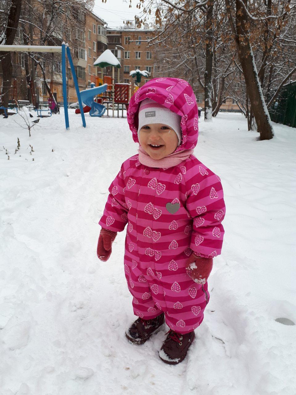 Кто зиме рад, тот Амелия :). Веселая зима