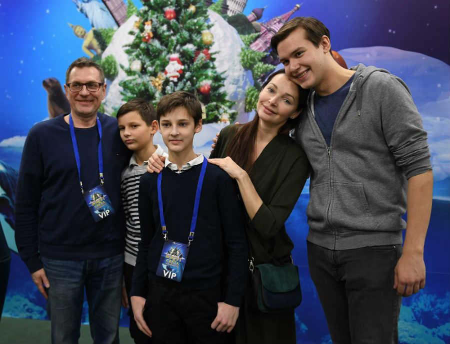 Наталия Антонова дети