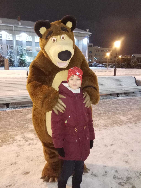 И всё-таки в России по улицам ходят медведи!))). Веселая зима