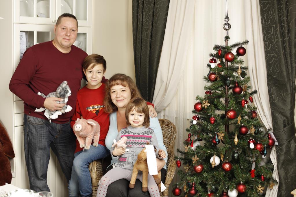 Наша семья. Новогодний праздник