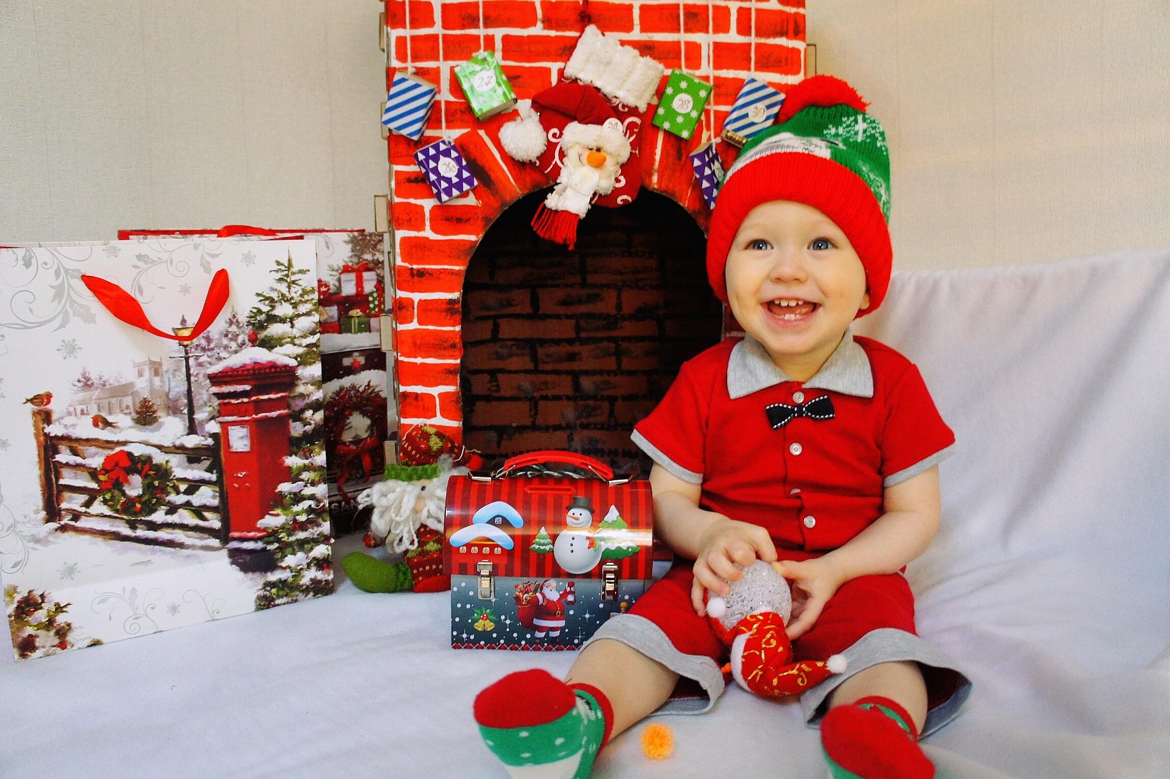 Маленький Санта. Новогодний праздник