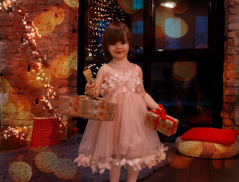 Маленькая принцесса. Новогодний праздник