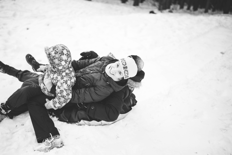 День с семьей бесценен!!!. Веселая зима