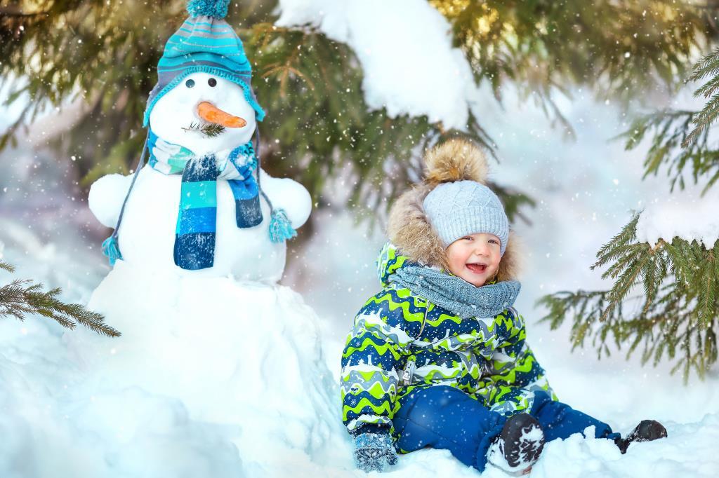 Веселая зимняя прогулка!. Веселая зима