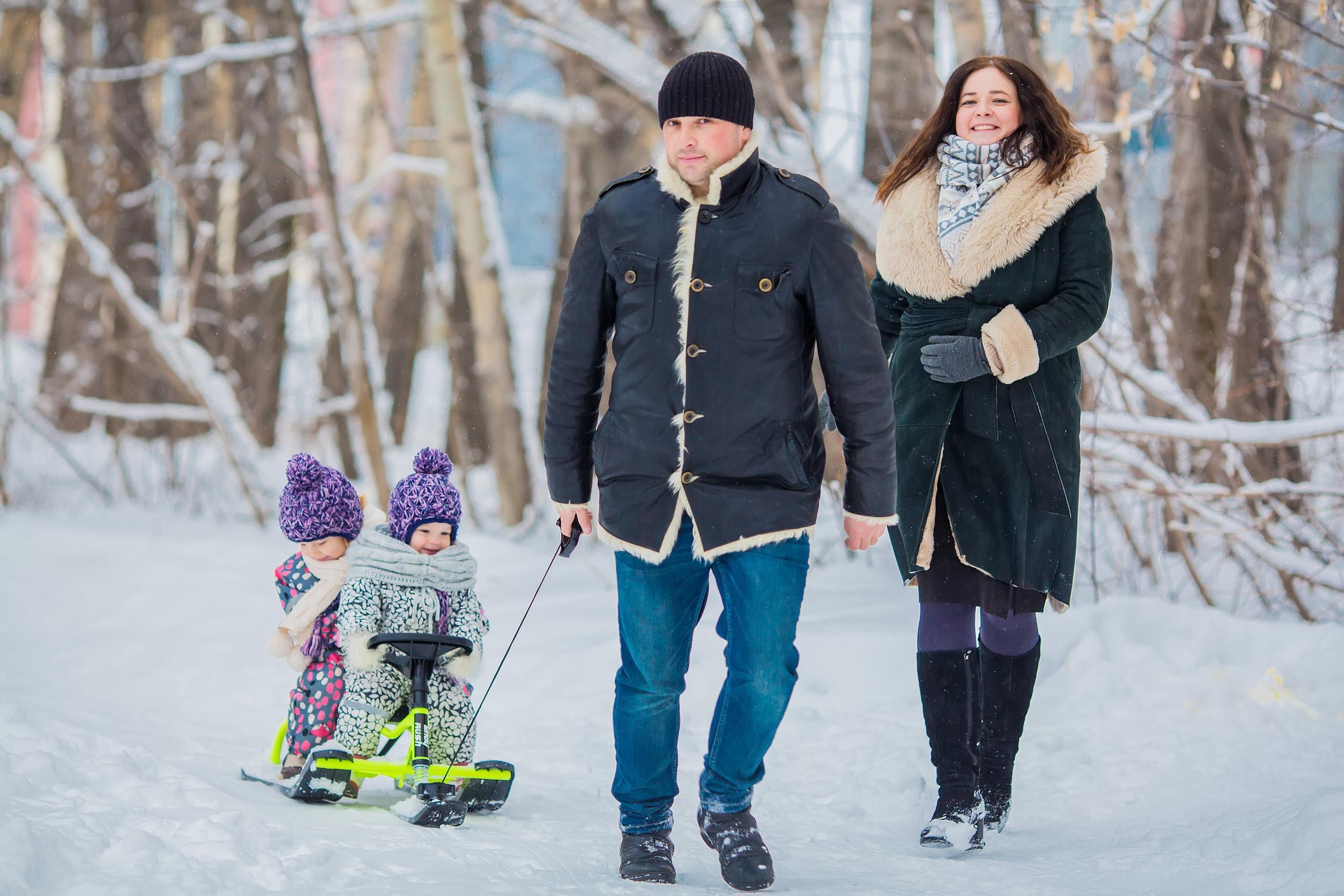 Вместе весело гу. Веселая зима