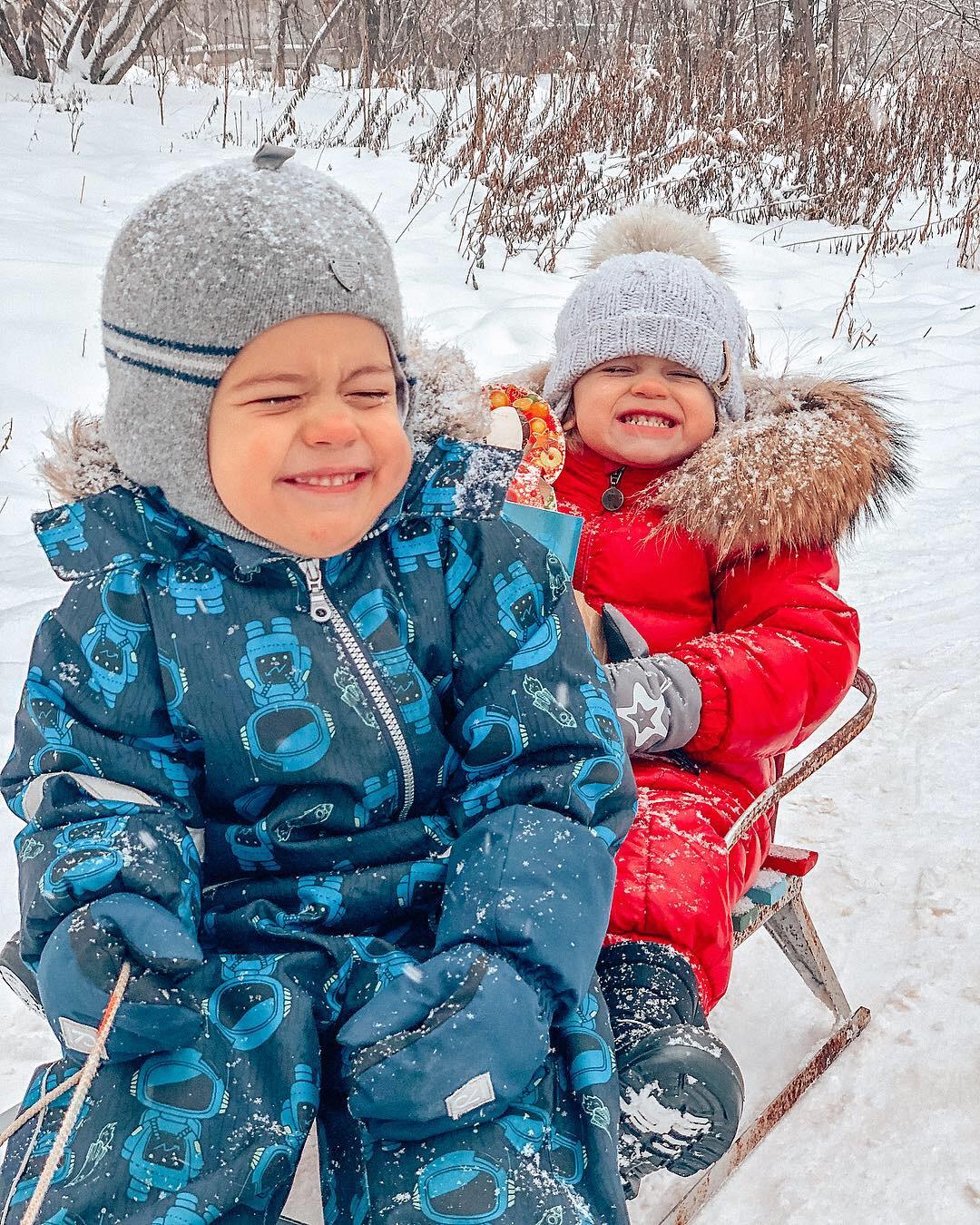 Как весело зимой!. Веселая зима