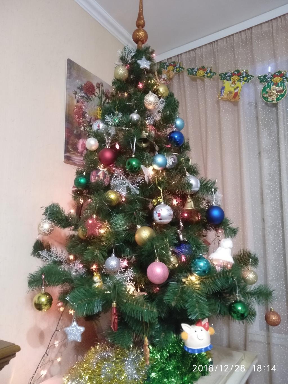 Наша маленькая красавица.. Блиц: Ну и елка!