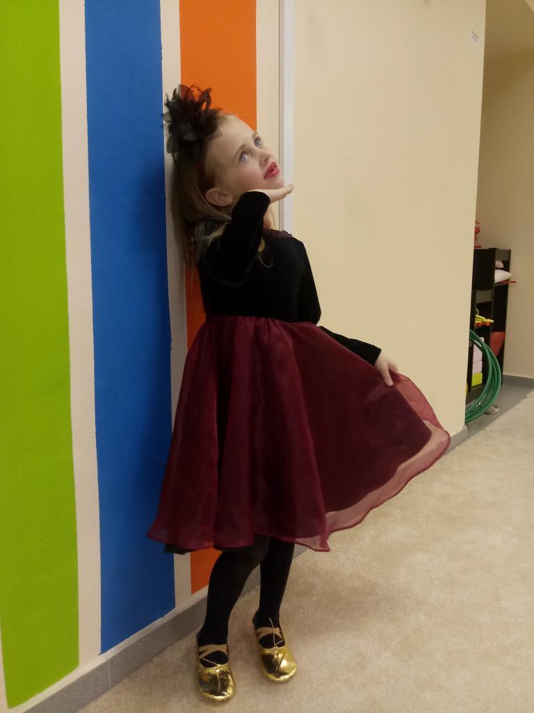 Страшно волшебная колдунья. Принцесса собирается на бал