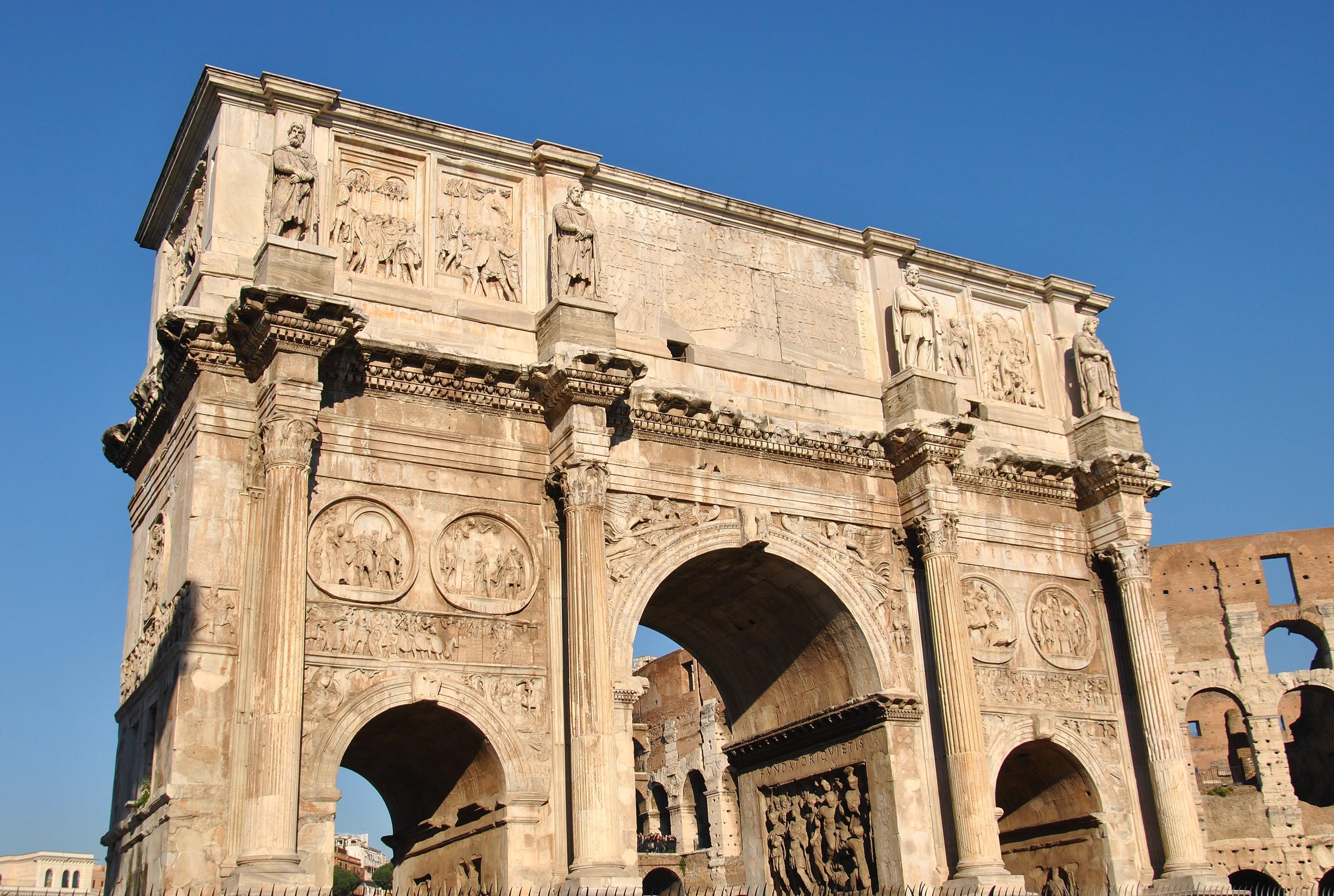 Рим. Блиц: арки и ворота